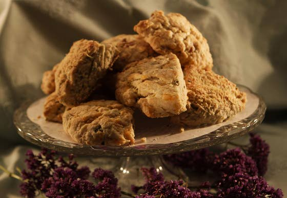 Scones: Whether sweet or savory, this simple pleasure is meant for sharing