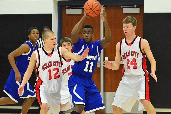 ocean city hammonton boys basketball
