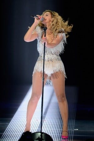 Beyonce Performs at Revel Resorts & Casino