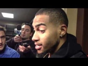 DeSean Jackson talks about the Eagles' loss to the Redskins, Nov. 18, 2012