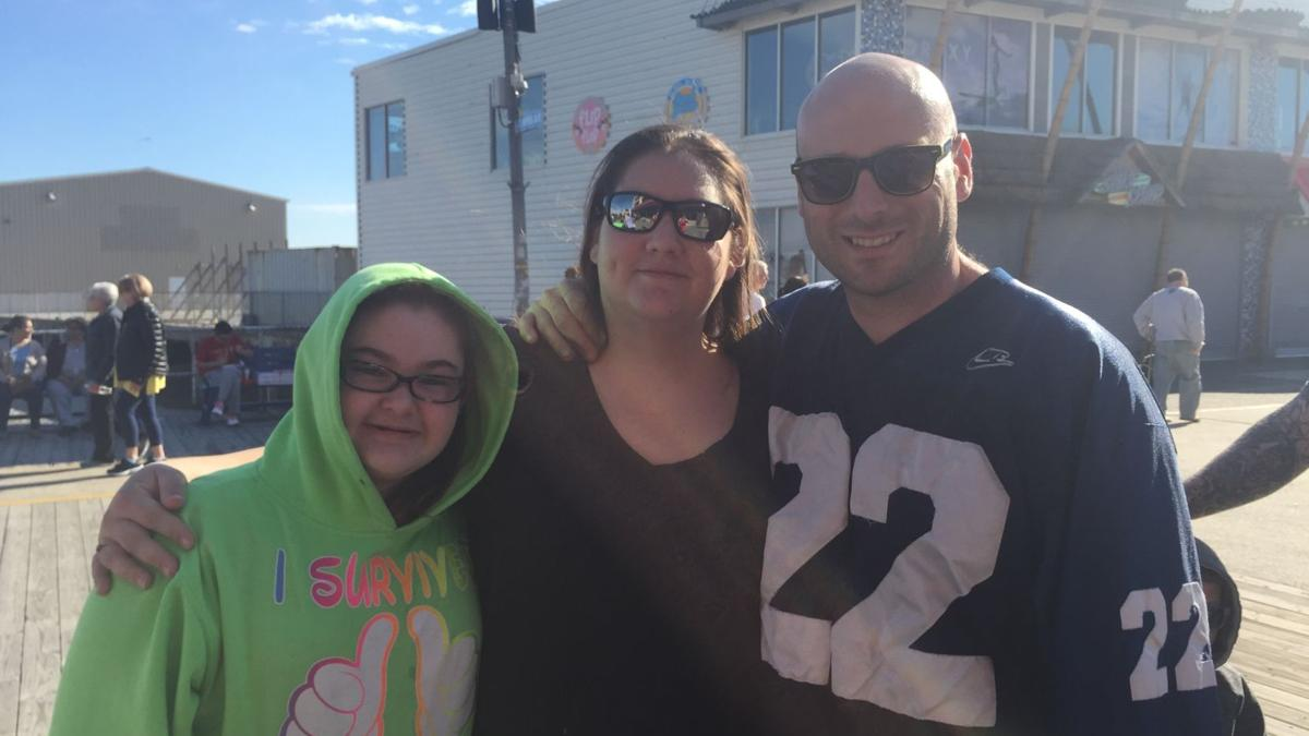 SEEN on the Wildwood Boardwalk during President's Day Weekend