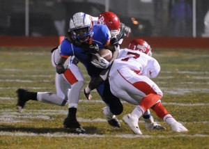 Millville running back Alquann Jones closes in on 2,000-yard mark