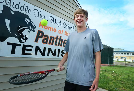 2013 Press Boys Tennis Player of the Year: Middle Township High School senior Jeremy Novick