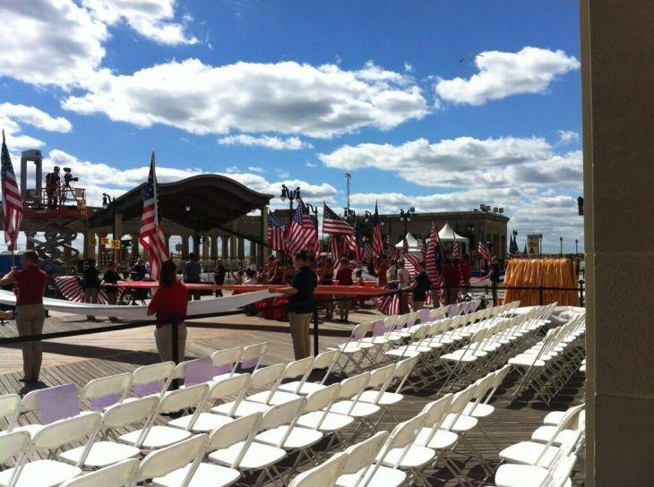 Miss America parade preparations