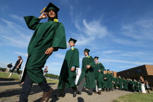 Pinelands graduates urged to proceed with strength