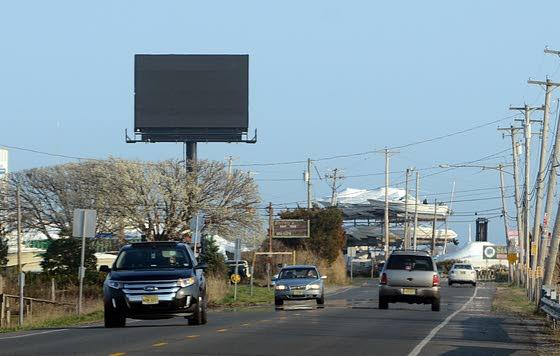 New causeway billboard / Sullying the view