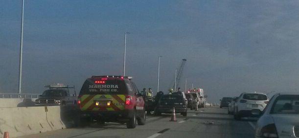 Thursday morning garden state parkway crash backs up traffic news for Garden state parkway accident reports