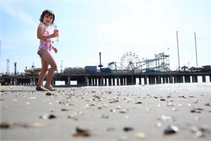 AC Beach Scene before Memorial Day weekend