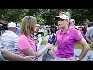 Paula Creamer Final Round Interview from the 2012 ShopRite LPGA Classic