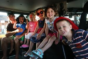 Margate firefighters open up trucks to kids for meet and greet