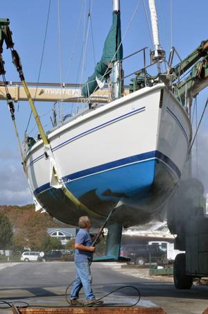 Sandy boats
