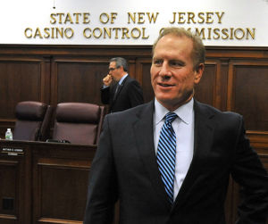 Hartmann: Interim Revel CEO Jeff Hartmann following a special meeting with the Casino Control Committee Tuesday during which he was approved for a temporary casino key employee license.  - Michael Ein