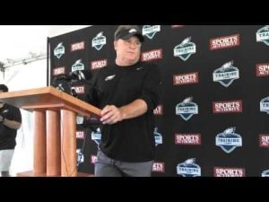 Eagles' Chip Kelly talks about Riley Cooper's return