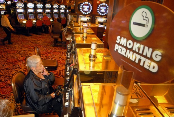 casino smoking