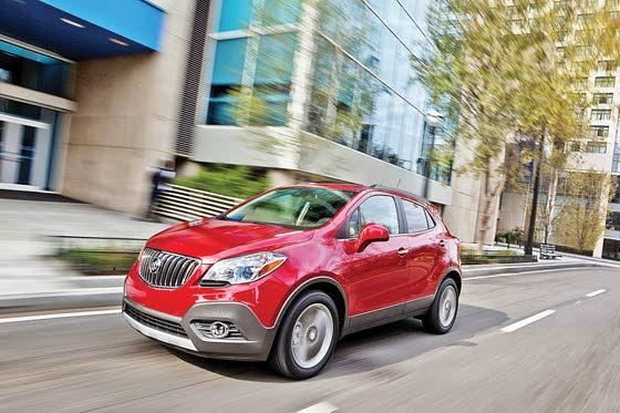 Buick Expands with 2013 All-New Encore