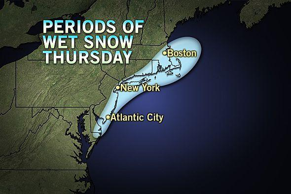 Snow for March 21