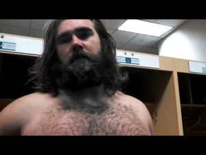 Video interview with Eagles center Jason Kelce