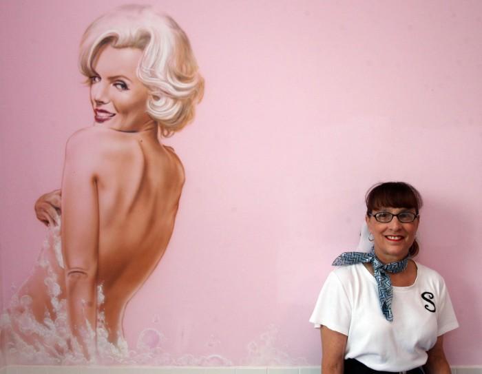 Marilyn and Sheila