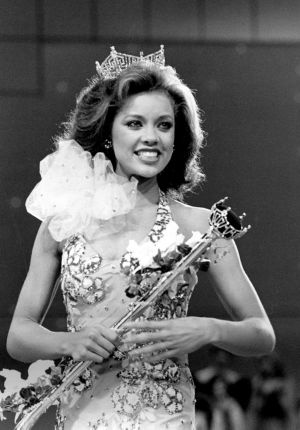 Miss America Through The Years: Miss America Pageant-Vanessa Williams