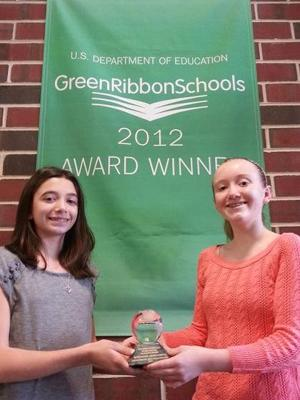 Alder Avenue Middle School receives award for environmental excellence