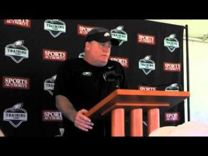 Eagles coach Chip Kelly discusses the Riley Cooper situation.
