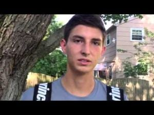 Interview with Middle Township tennis player Ben Bright.