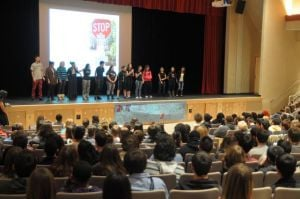 Founder of Operation Beautiful visits Egg Harbor Township High School