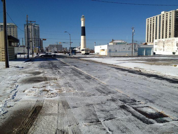 View from Pacific Avenue in Atlantic City