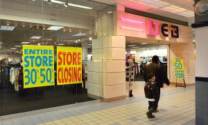 SHORE MALL CLOSINGS: Part of Shore Mall in Egg Harbor Township will be demolished. Shops in that section must find a place elsewhere or close.  - Photo by Ben Fogletto