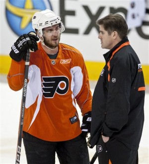 Flyers Peter Laviolette Mike Richards