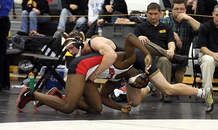 Marinelli wrestling tourney Dec 29 2011