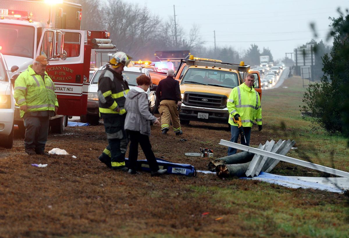 7 injured in 2 serious garden state parkway accidents news for Garden state parkway south accident