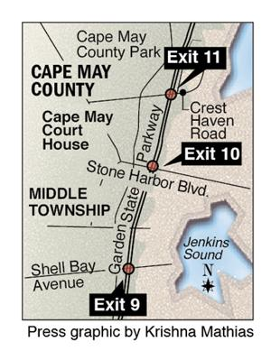Parkway map