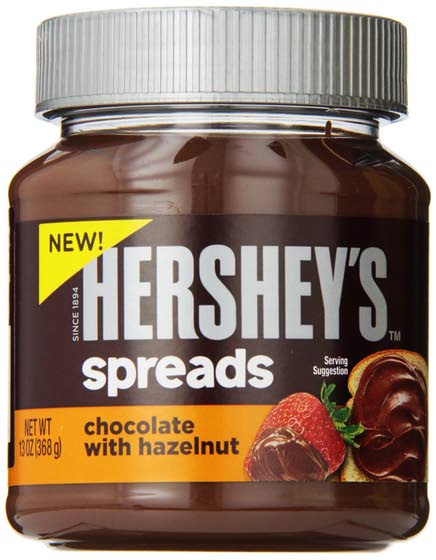Hershey takes on fast-growing Nutella with its own spread