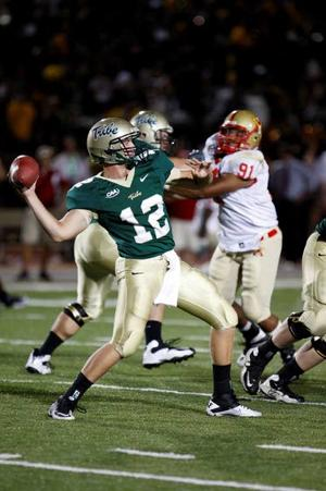Injuries pushing Caprio quickly into starting QB job for William & Mary