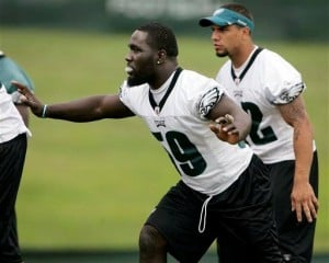 Eagles rookie linebacker Brian Rolle joining (distant) family business