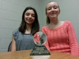 Alder Avenue Middle School receives award for environmental excellence