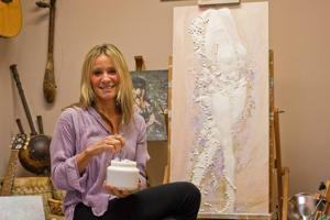 Local artist says she's honored to tell Avalon's stories through her paintings
