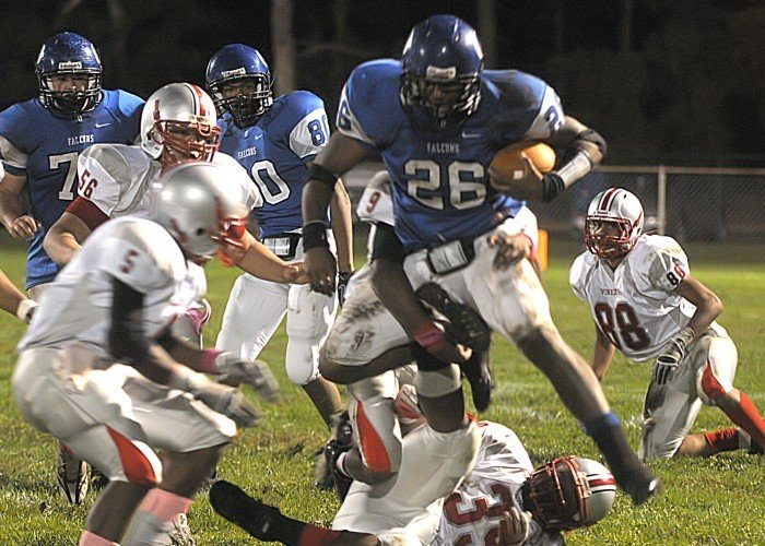 oakcrest vineland football 2