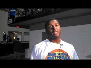 David Williams' interview after wrestling in the state final, March 10, 2013