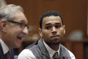 Singer Chris Brown claims he did  community service at old daycare