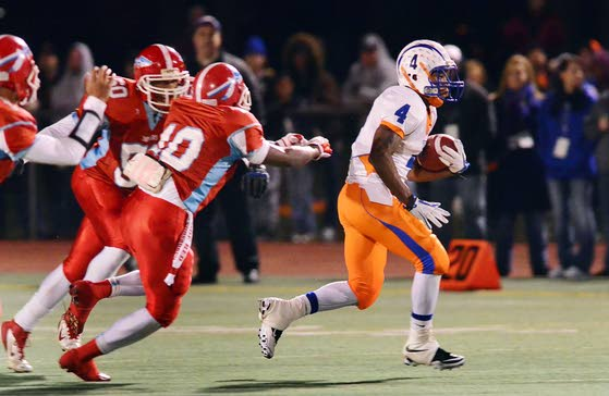 Pennsauken QB accounts for 7 TDs to end Millville's memorable season