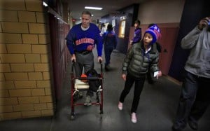 Aging athlete steps back to health with the help of pre-teen neighbor