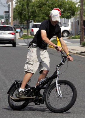 Alternative bicycles, such as the stepper bike and electric-assist bikes, are gaining in popularity and appeaing on local roads