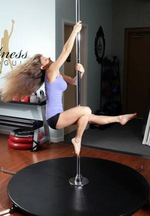 Your Workout: Pole fitness martini spin