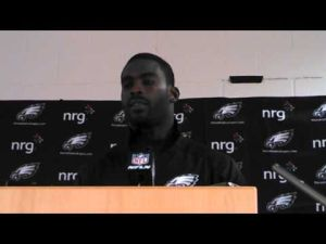 Video interview with Michael Vick.