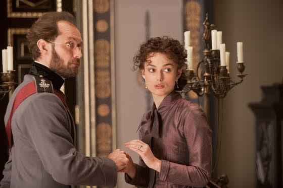 Gorgeous, but distant, 'Anna Karenina' shines