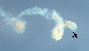 Airshow Practice: Rob Holland Aerobatics. Tuesday June 25 2013 Atlantic City AirShow practice. (The Press of Atlantic City / Ben Fogletto) - Ben Fogletto