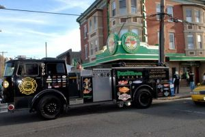 Five Things You Need To Know About Ducktown Tavern: Press photo Ducktown Tavern has plenty of surprises up its sleeves, including its own party on wheels. The fire engine includes six keg taps and flat-screen TVs.