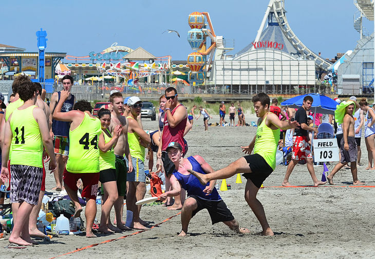 Wildwoods Beach Frisbee